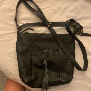 Lucky Brand leather cross body!!